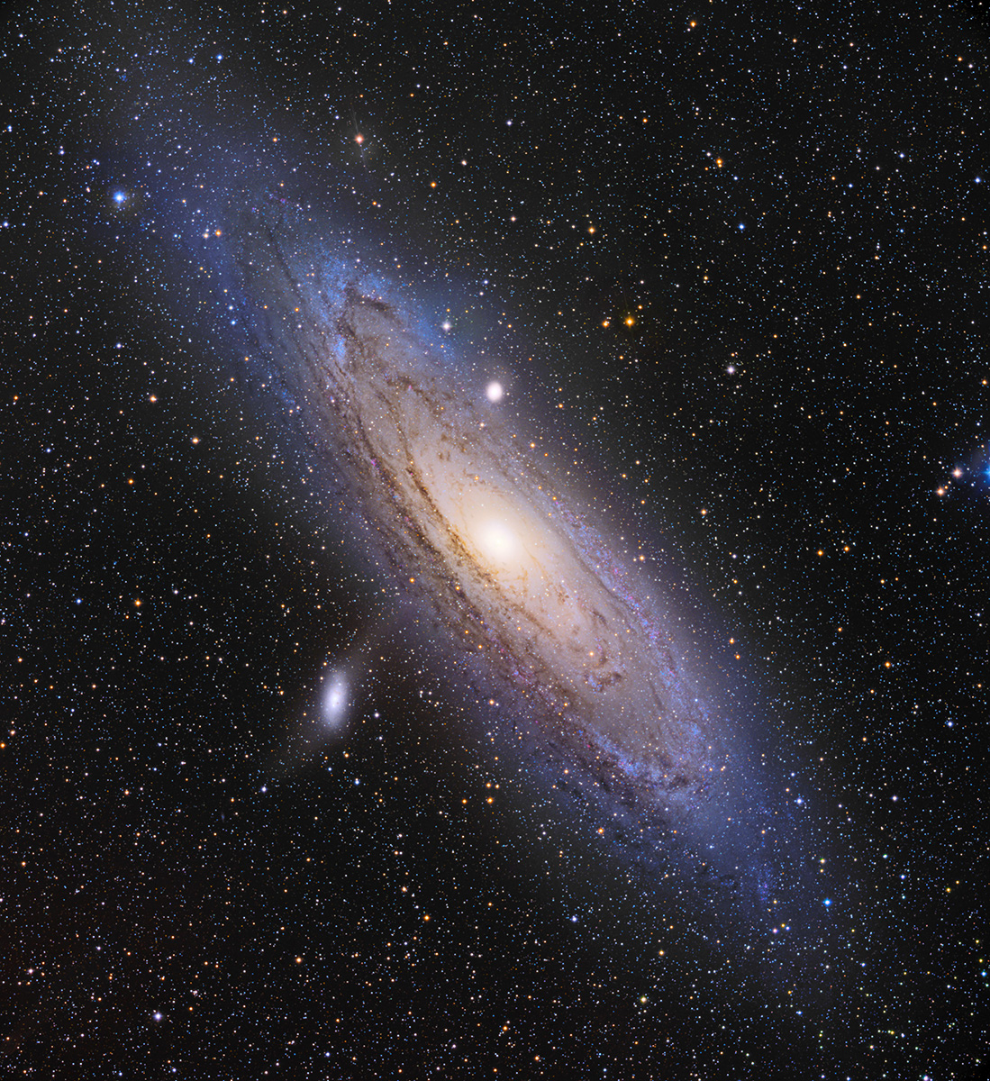 M31: The Andromeda Galaxy: Our Neighbor
